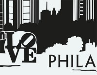 Wall Decal no.DM9 Philadelphia Skyline Wall Sticker Wall ...