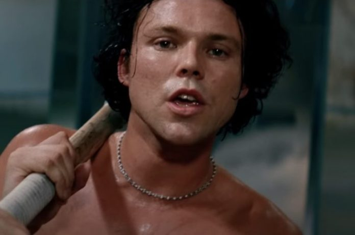 Ashton Irwin in the music video for
