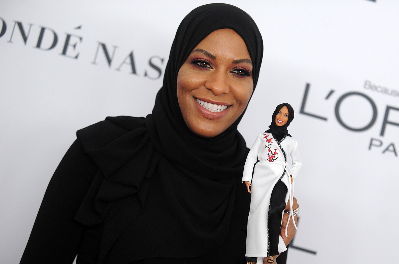 """Line which recognizes women """"who break boundaries to inspire the next generation of girls"""", and will go. Barbie The Story Behind The First Hijab Wearing Doll Billboard Billboard"""
