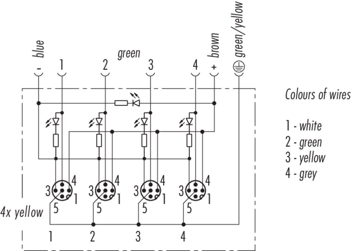 4 Pin Wiring Diagram 4 Pin M12 Pinout Collection
