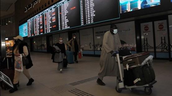 Οι απαιτήσεις δοκιμών PCR άρχισαν στους επιβάτες που έφτασαν στην Τουρκία