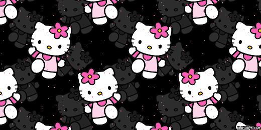 Animal Print Pink Wallpaper Blingify Com Hello Kitty Twitter Headers