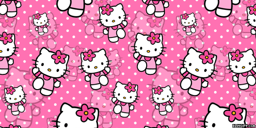 Black Animal Print Wallpaper Blingify Com Hello Kitty Twitter Headers