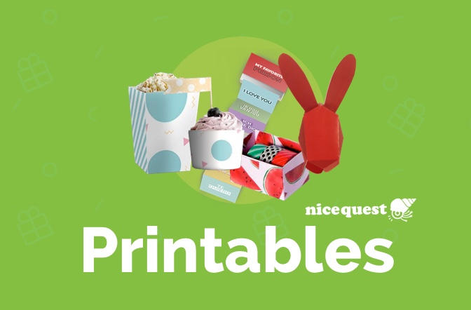 Diy Nicequest Printables For Any Occasion