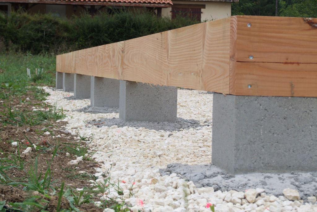 Autoconstruction D Une Terrasse En Bois De Douglas Et Meleze