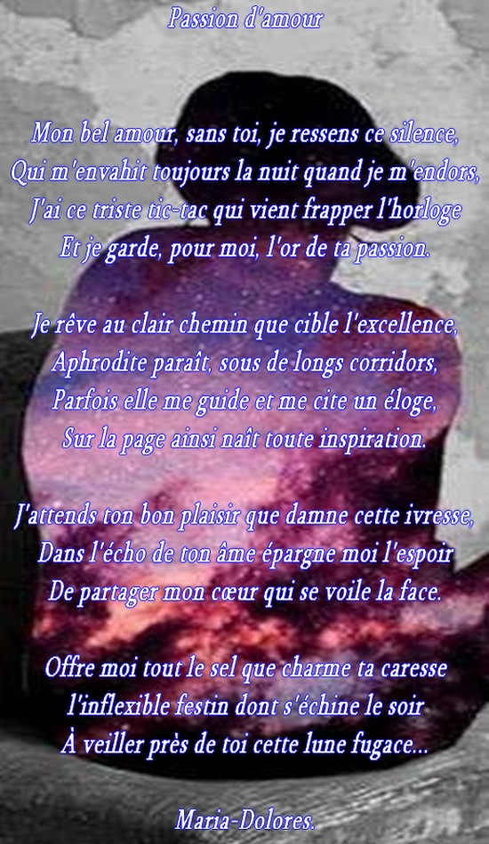 Quand Je Reve De Toi : quand, Anime, Wallpaper, Heaven:, Poeme