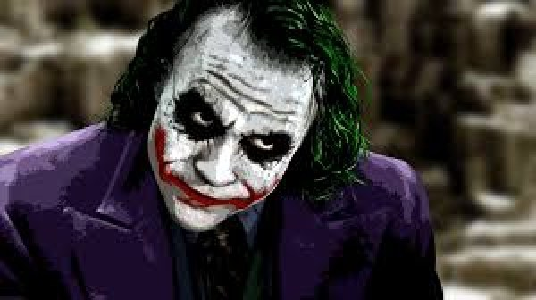 Le Joker dans The Dark Knight, de Christopher Nolan