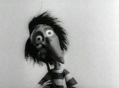Vincent dans le court-métrage de Tim Burton