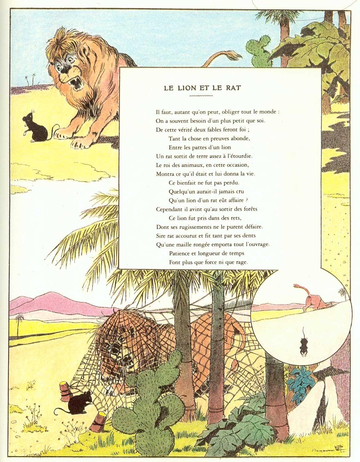 Le Lion Et Le Rat Analyse : analyse, Analyse, Texte