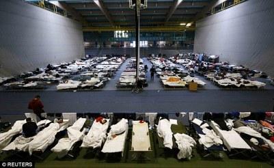 Bildergebnis für refugees camp europe