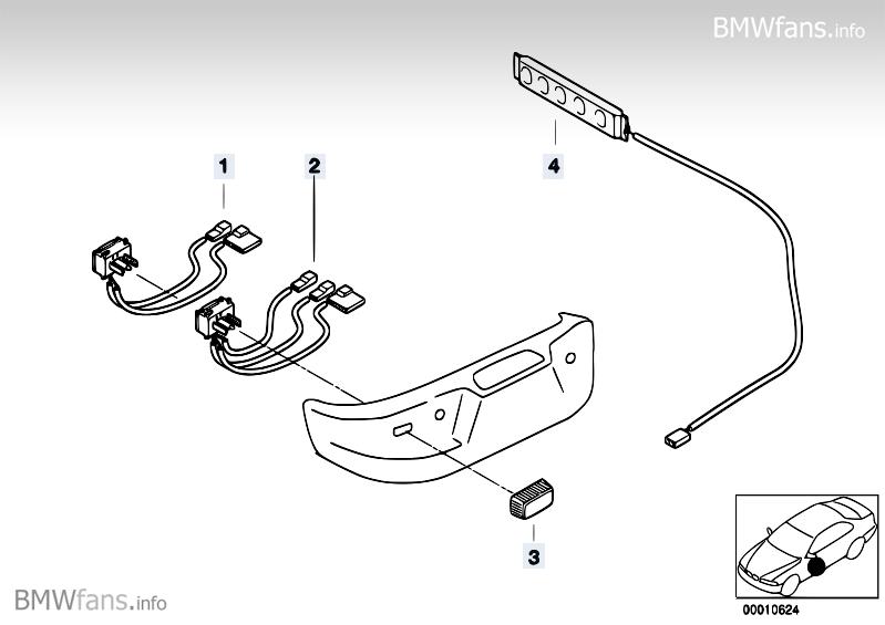 Switch, seat adjustment BMW Z3 E36, Z3 M3.2 (S50) — BMW
