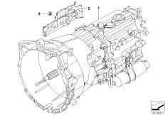 Manual transmission GS6-37BZ/DZ BMW 3' E46, 330Ci (M54