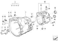 GS6S37BZ(SMG) Hydraulic pipes BMW 3' E46, 325i (M54) — BMW