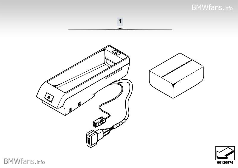 Upgr.kit, hands-free kit Bluetooth SA644 BMW 3' E90, 320d