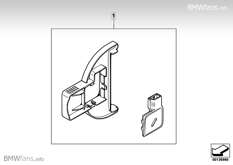 Condensation sensor BMW 3' E90, 320i (N46N) — BMW parts