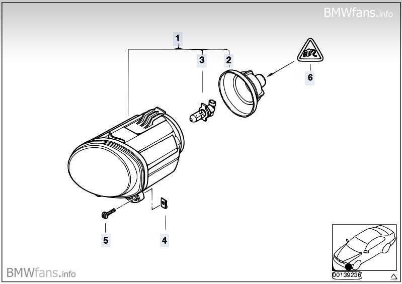 E53 VL: Blende vor Nebelscheinwerfer ausbauen? [ BMW X1