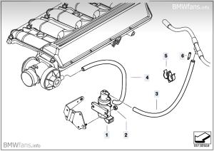 Elektromagicky ventil egr e46 330d   BMWklubsk