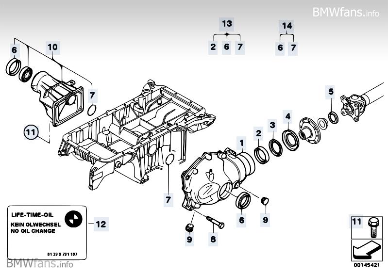 Bmw X3 Front Differential Diagram. Bmw. Auto Parts Catalog