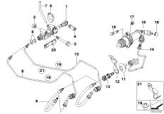 Clutch BMW 3' E90, 325i (N52) — BMW parts catalog