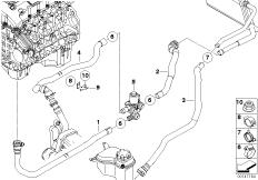Bmw Heater Core Hose Diagram BMW Water Pump Diagram Wiring