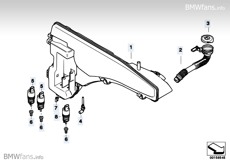 Service manual [2008 Bmw X6 Windshield Washer Replacement