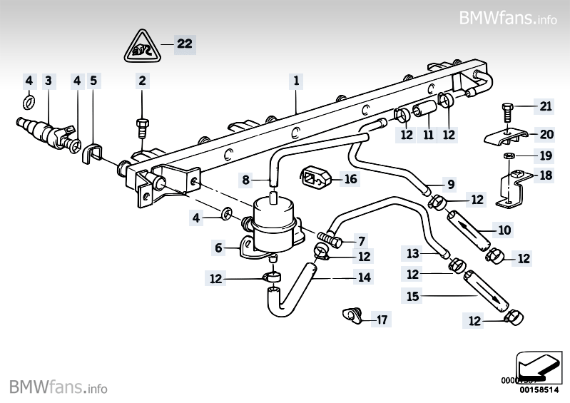 Bmw E38 Engine Bay Diagrams, Bmw, Free Engine Image For