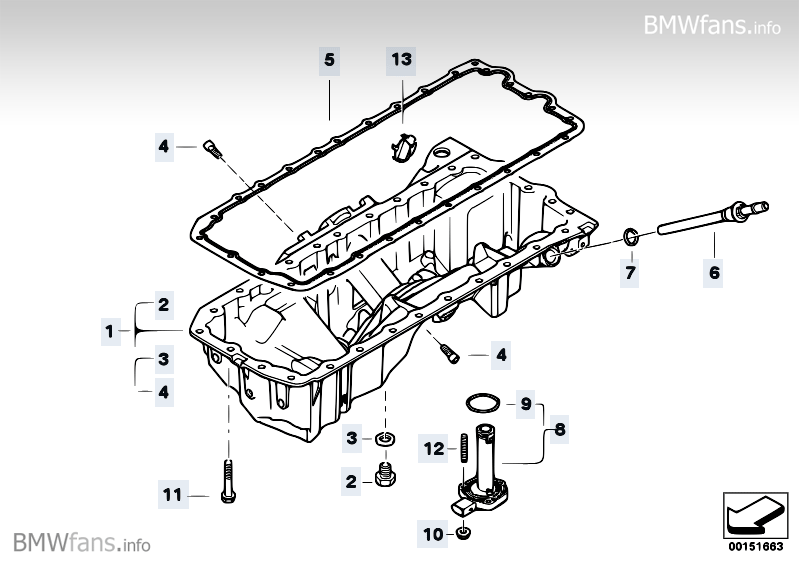 2008 bmw 535i fuse box location