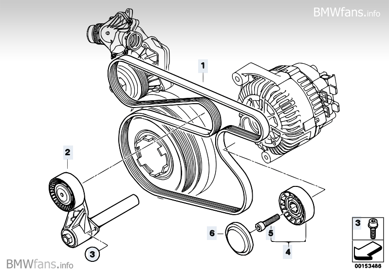 Bmw Wiring : A Serpentine Belt Diagram For 2008 Bmw X5