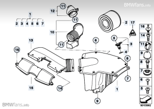 St Louis BMW Club • View topic  E90 Intake Silencer
