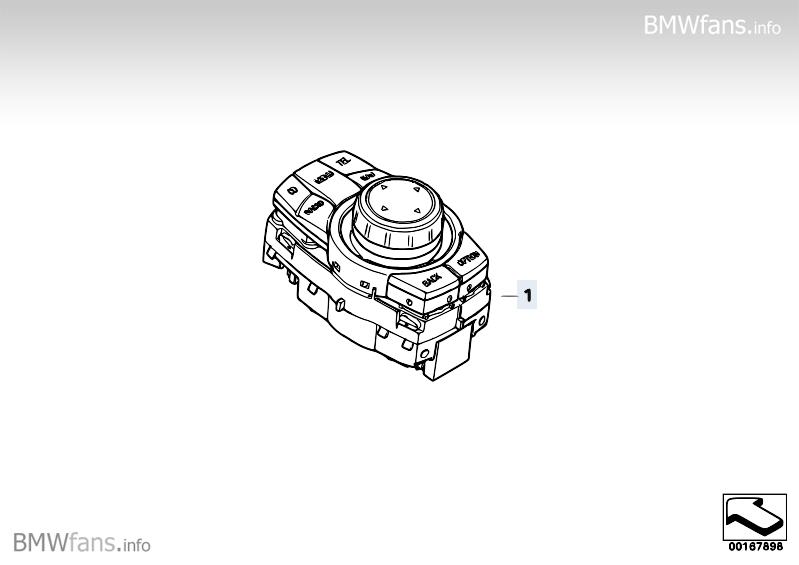 Controller CIC BMW 3' E90 Facelift, 320i (N46N) — BMW