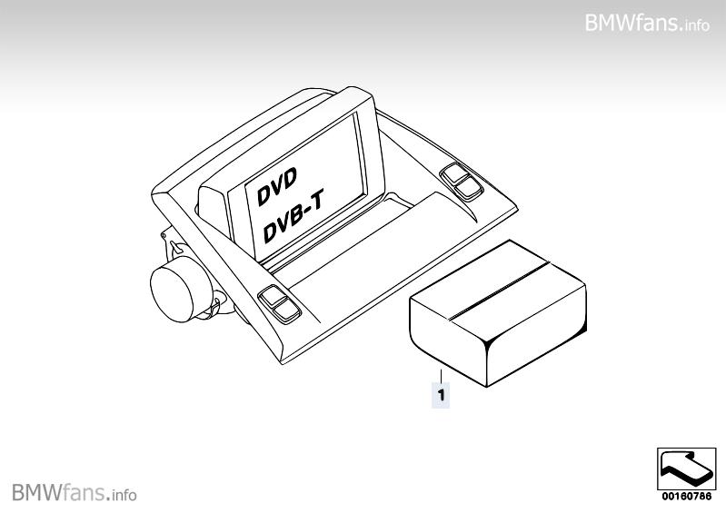 Retrofit kit Accessory Control Menu ACM BMW X3 E83, X3 2