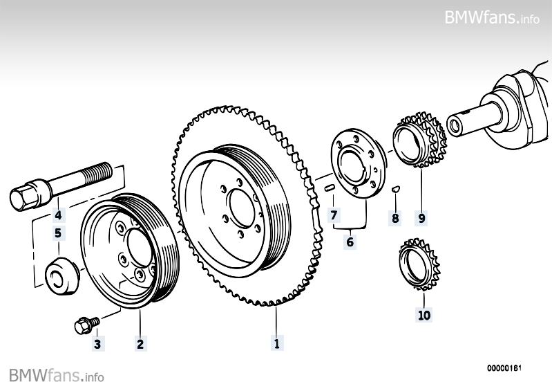 Vibration damper / belt pulley is loose, where's the problem?