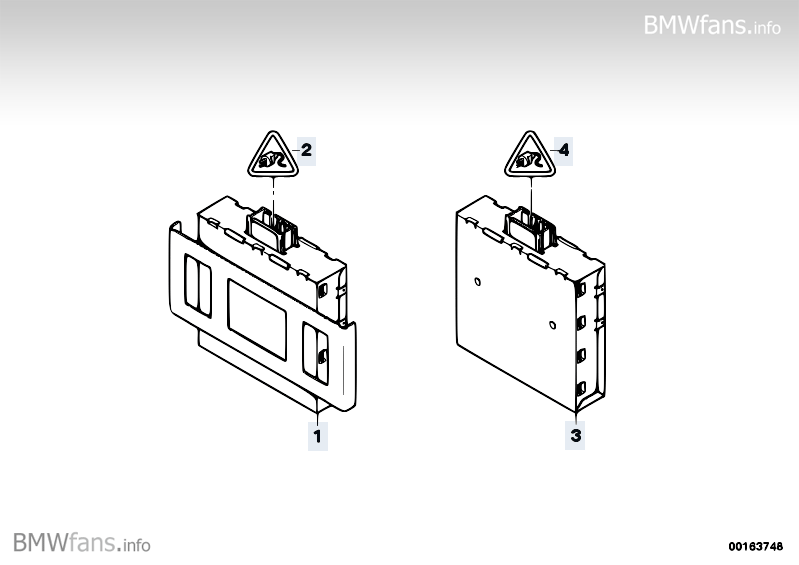 Dc/dc-torque converter BMW 3' E90, 318i (N43) — BMW parts