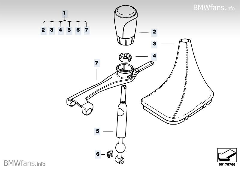BMW Performance Schaltung mech. Getriebe BMW 1' E82, 135i