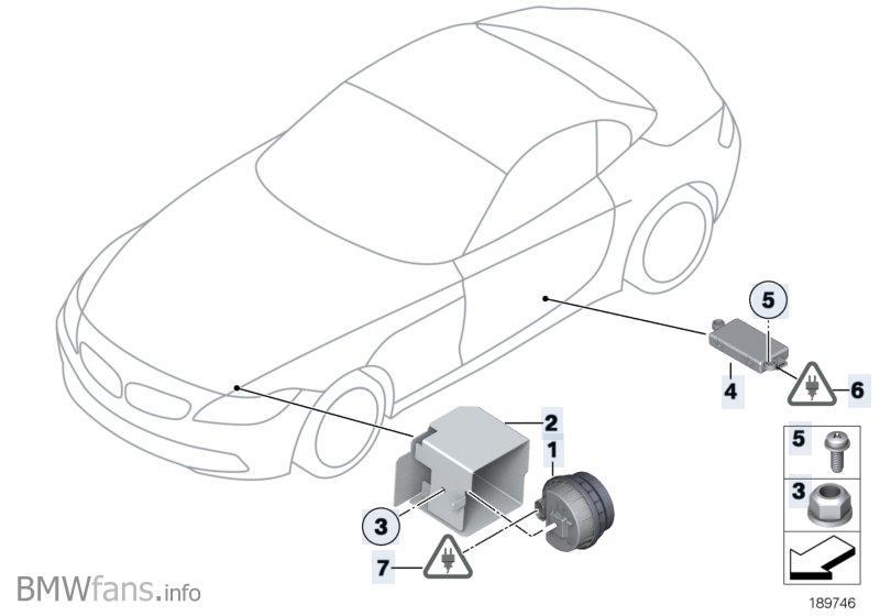 Alarm system BMW Z4 E89, Z4 35i (N54) — BMW parts catalog