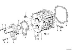 Getrag 265/5 inner gear shifting parts BMW 7' E23, 728