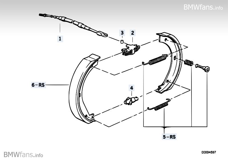 Bremsen Handbremse lässt sich nach