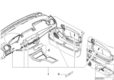 Retrofit, pull-out loading floor BMW X5 E53, X5 4.6is (M62