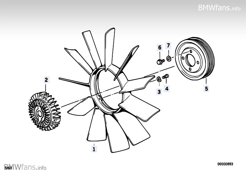 [ BMW E36 316i an 1995 ] visco-coupleur absent sur Hélice