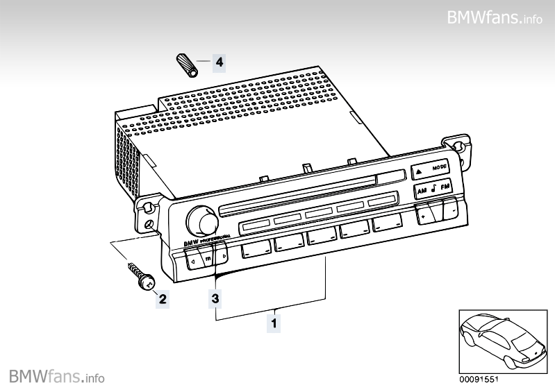 Conversion, Professional/Professional CD BMW 3' E46, 330Ci