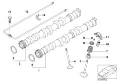 Lubrication system/Oil pump BMW 1' E87, 116i (N45) — BMW