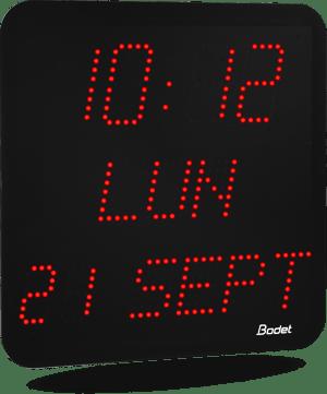Horloge Digitale Interieur Pour Ecoles Banques Hopitaux Industrie
