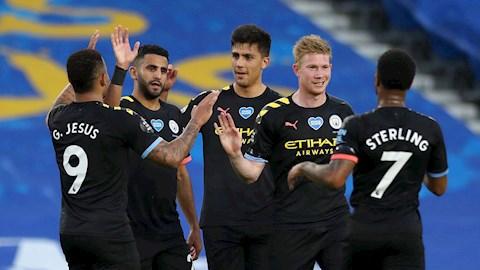 Link xem video Brighton vs Man City 0-5: Chờ tứ kết cup C1