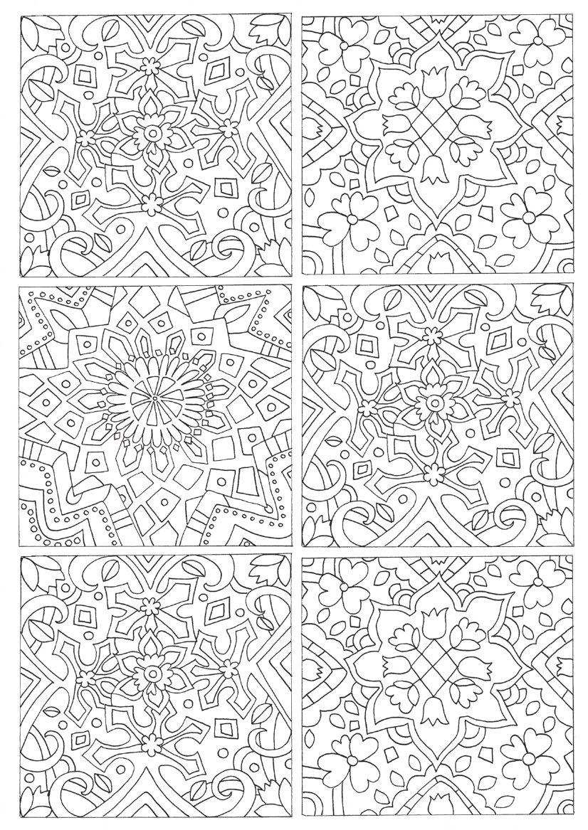 Patterns From Around The World Colouring Book Children S