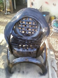 Sofas Made Of Recycled Car Tires | Bored Panda