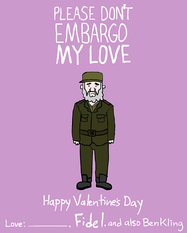 Dictator And Famous People Valentine Day Cards By Ben