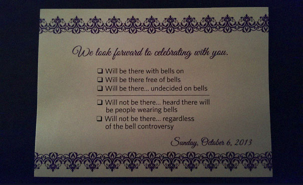 9 Hilarious Wedding Invitations That Simply Cant Be