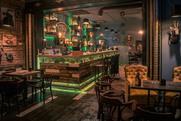 20 Of The Worlds Best Restaurant And Bar Interior Designs  Bored Panda