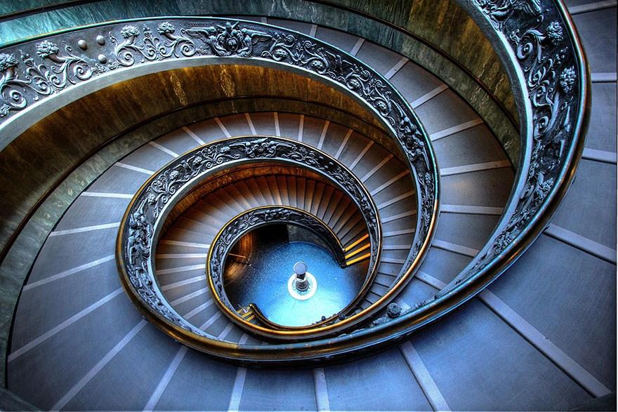 30 Mesmerizing Examples Of Spiral Staircase Photography Bored Panda | Types Of Spiral Staircase | Divine | Elegant | Exterior | Free Standing | Aqua