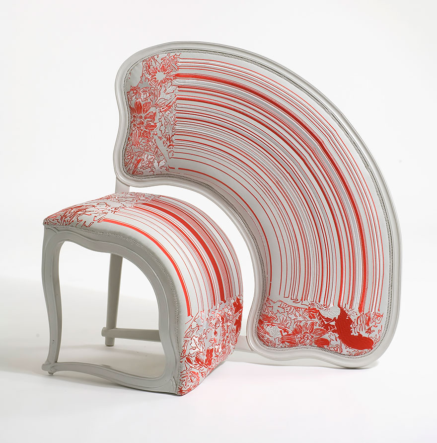 unusual armchair linen chair covers dining room these 28 chairs prove that furniture can be art | bored panda